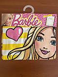 """Детское пляжное полотенце - пончо """"Барби с сердечком"""" Disney, фото 3"""