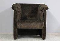 Кресло Манчестер (велюр темно-коричневый)