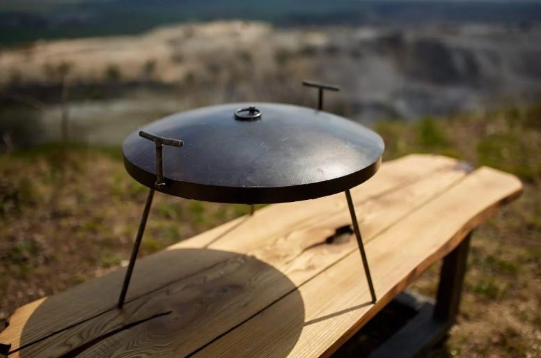 Сковорода з кришкою 60 см Bukovinka