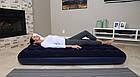 Надувной матрас Bestway Flocked Air Bed, 188х99х22 см | Велюровый надувной матрас, фото 4