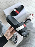 Мужские кожаные шлепанцы Tommy Hilfiger, фото 2