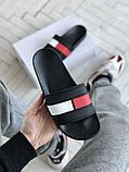 Мужские кожаные шлепанцы Tommy Hilfiger, фото 3