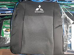 """Чехлы на Mitsubishi ASX 2010- / автомобильные чехлы Митсубиси АСХ """"Prestige"""" эконом"""