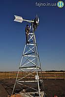 Koenders 7,3 м: ветряк для аэрации и против замерзания пруда (площадь 1,2-1,6 га)