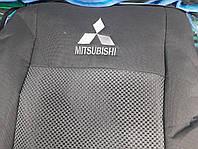 """Чехлы на Mitsubishi L200 2006- / автомобильные чехлы Митсубиси Л200 """"Prestige"""" эконом"""