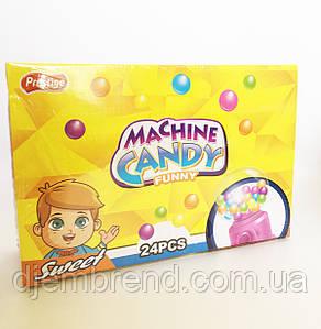 Автомат с драже Candy Machine 24 шт. в упаковке Мини-Диспенсер