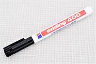 Маркер перманентний водостійкий Edding 400, чорний - 1,0 мм