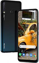 Смартфон с большим дисплеем на 2 сим карты Tecno Camon12 (CC7) 4/64Gb DS Dark Jade IPS Octa Core UA UCRF