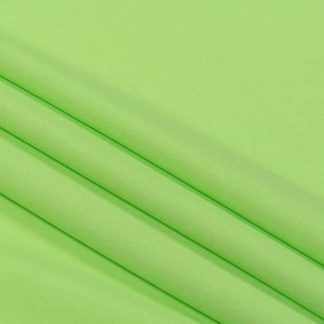 Трикотажное полотно Стрейч кулир, 30/1 Пенье, цвет - салатовый, в наличии, купить в Украине, фото 2