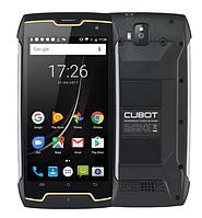 Смартфон противоударный черный с мощной большой батареей на 2 sim Cubot King Kong black 2/16 гб