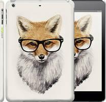 "Чехол на iPad 5 (Air) Лис в очках ""2707c-26"""