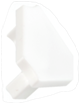 Заглушка для углового LED профиля: Белая, Grass Hopper