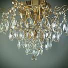 Люстра кришталева класична на 5 лампи 14-67075/5 LED FGD, фото 2