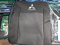 """Чехлы на Mitsubishi Outlander EL 2003- / автомобильные чехлы Митсубиси Аутлендер """"Prestige"""" эконом"""