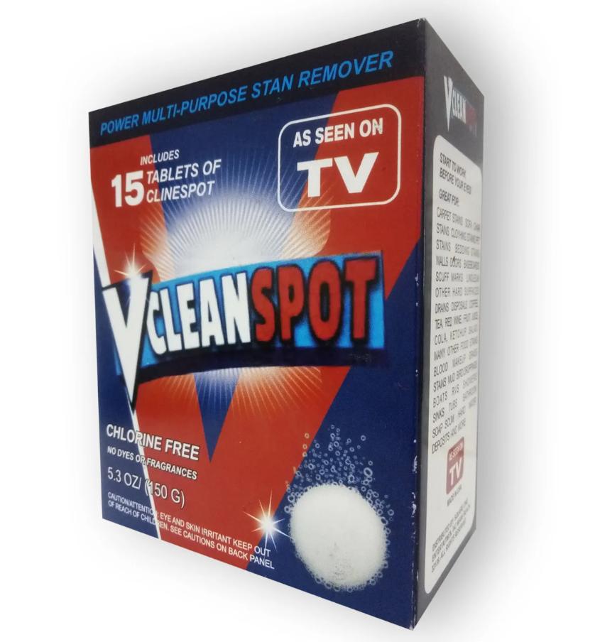 VClean Spot - универсальное чистящее средство, устраняет любые загрязнения, ржавчину и налет