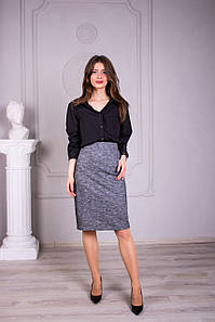 Женская юбка Афина серая