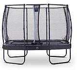 Батут EXIT Elegant Premium прямоугольный 214х366 cm black, фото 2