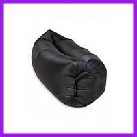 Надувной матрас-гамак UTM 2,2 м Черный Надувная мебель Надувной диван Надувной мешок