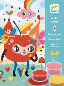 Художній комплект малювання кольоровим піском чудово мило Djeco (DJ08678)