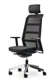 Кресло Wiesner-Hager Paro_2_alu с высокой спинкой,подголовником и подлокотниками