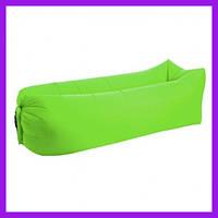 Надувной матрас-гамак UTM 2,2 м Зеленый Надувная мебель Надувной диван  Надувной мешок