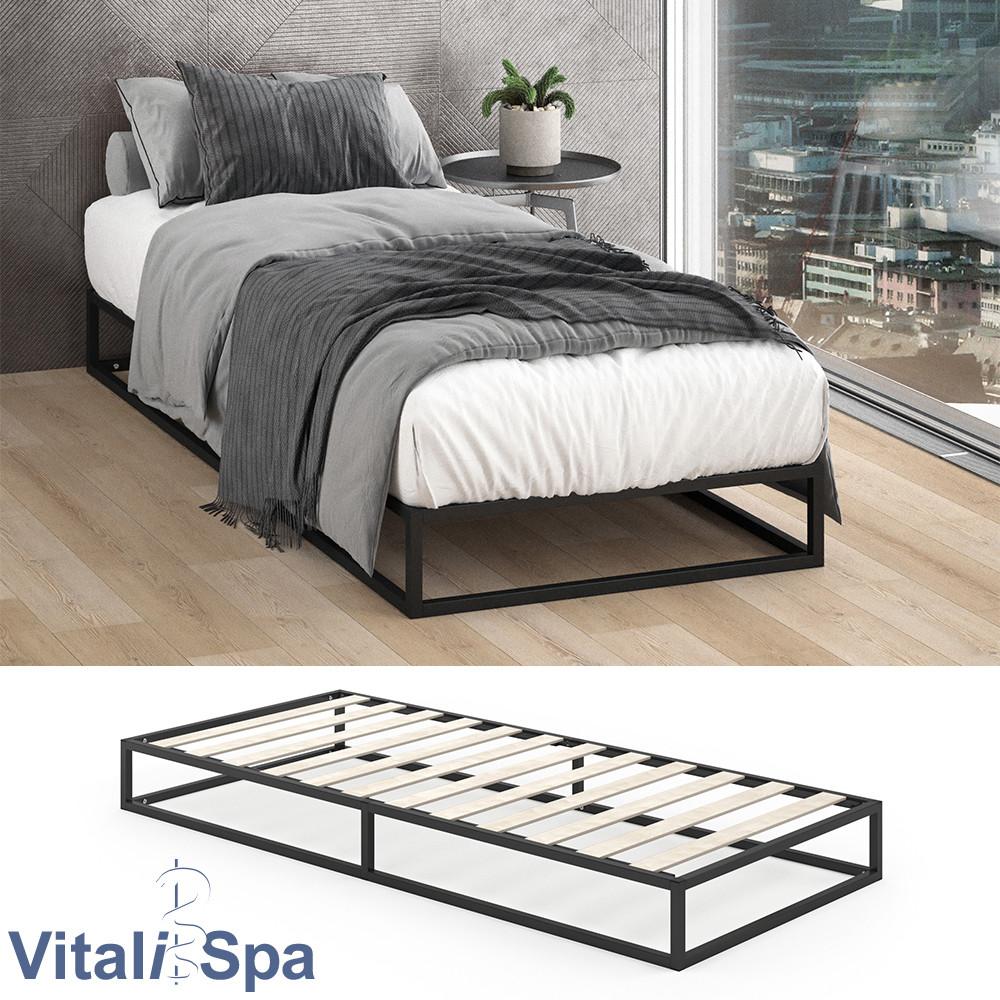 Ліжко в стилі лофт 90x200 VitaliSpa Mattia