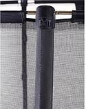 Батут EXIT Elegant Premium прямоугольный 214х366 cm black, фото 6