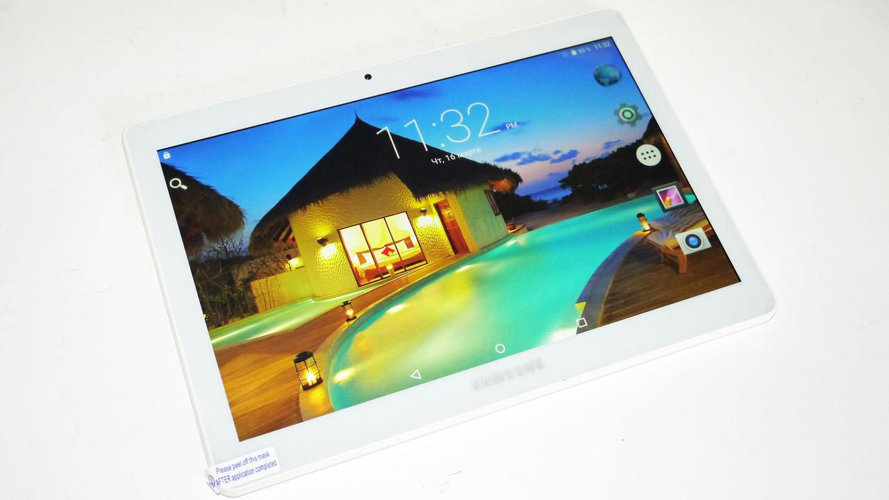 Android Планшет телефон Samsung Galaxy Tab 2Sim Silver 10.1 дюйма 8 Ядер 2GB/16Gb (Китай)
