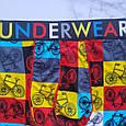 Труси чоловічі шовкові з велосипедами розмір 50, фото 2