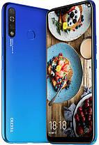 Смартфон Tecno Spark 4 (KC2) 3/32GB Vacation Blue Гарантия 12 месяцев, фото 3