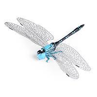 Магнит декоративный Стрекозы 13х9 см голубо-черная (42202.001)