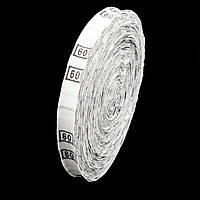 Размерник тканевый №42 960шт. Белый, фото 1
