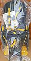 Велокресло темно-серое TILLY T-831 с установкой к подседельной трубе или на багажник с весом ребенка до 22 кг, фото 2
