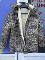 Бушлат зимовий тип ЗСУ (ММ-14) штучне хутро