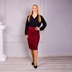 Женская Юбка София бордо