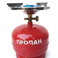 Газовая горелка с баллоном Intertool 5л.
