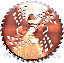 Диск Tekhmann для бензокосы  (40 ТВС зубцов+4 турбо прорези)