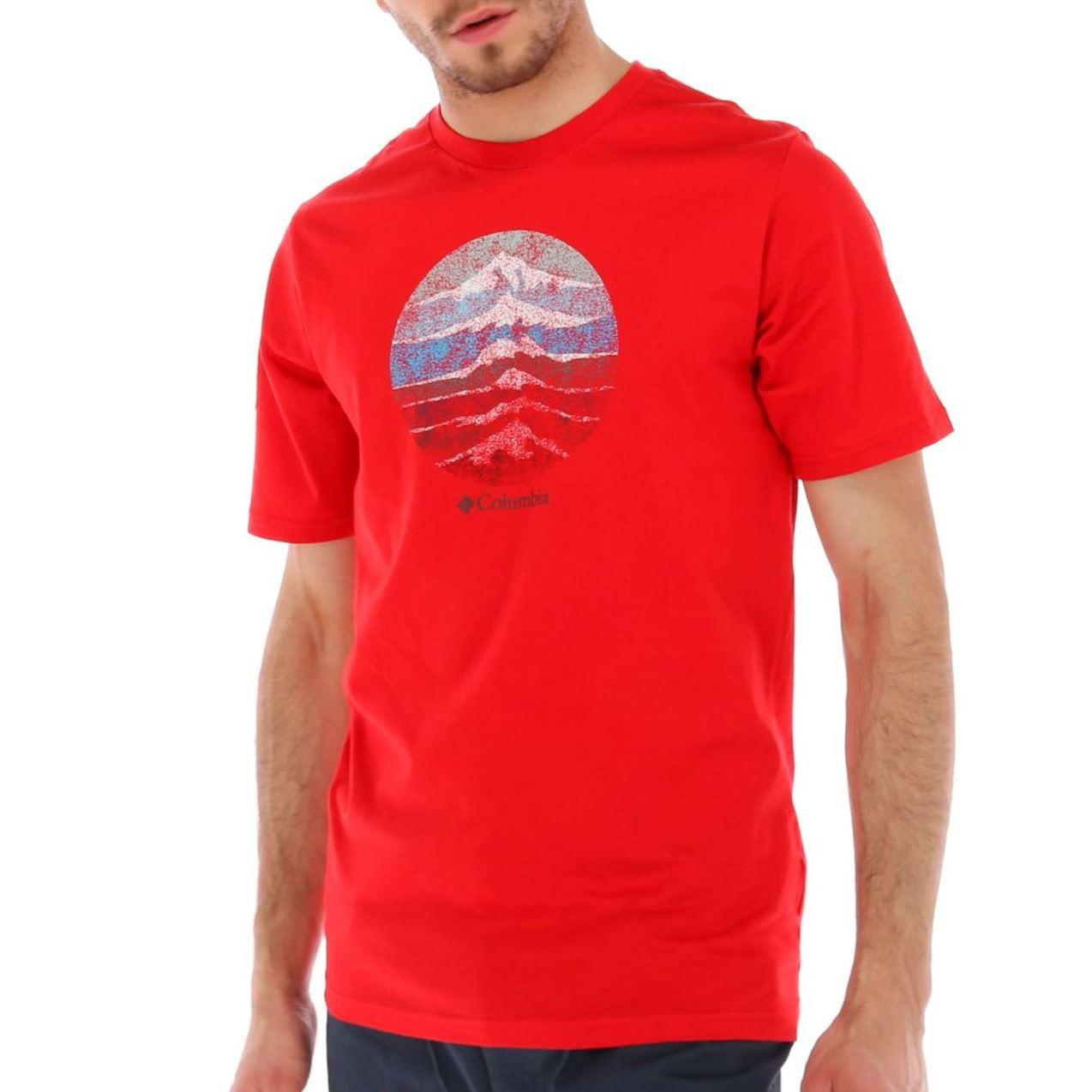 Мужская футболка Columbia CSC Mountain Sunset