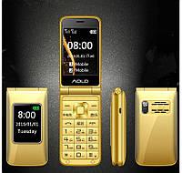 Раскладной  телефон H-mobile Dual Gold  двойным экраном   и  громкий звуком, фото 1