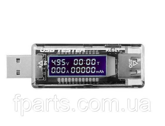 Амперметр-вольтметр USB, Keweisi KWS-V21, фото 2