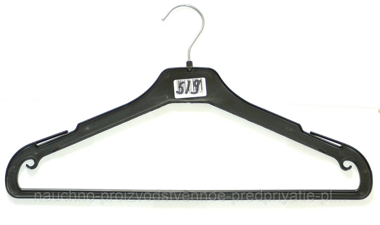 Тремпель с перекладиной для легкой одежды 45см