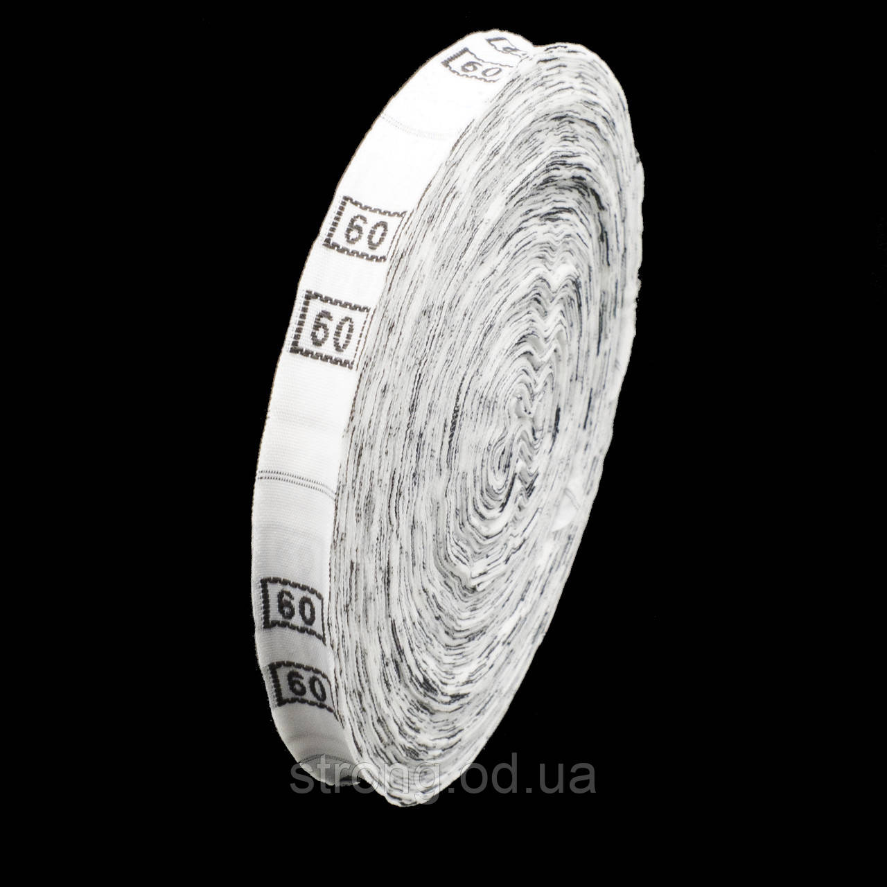 Размерник тканевый №48 960шт. Белый