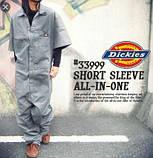 Комбинезон Dickies Short Sleeve Coveralls Olive, фото 7