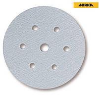 Абразивний круг Mirka Q.Silver P180 Ø150 мм 6+1 отворів голубий