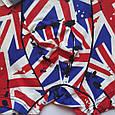 Трусы мужские шелковые флаг Британии размер 52, фото 3