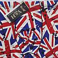 Трусы мужские шелковые флаг Британии размер 52, фото 2