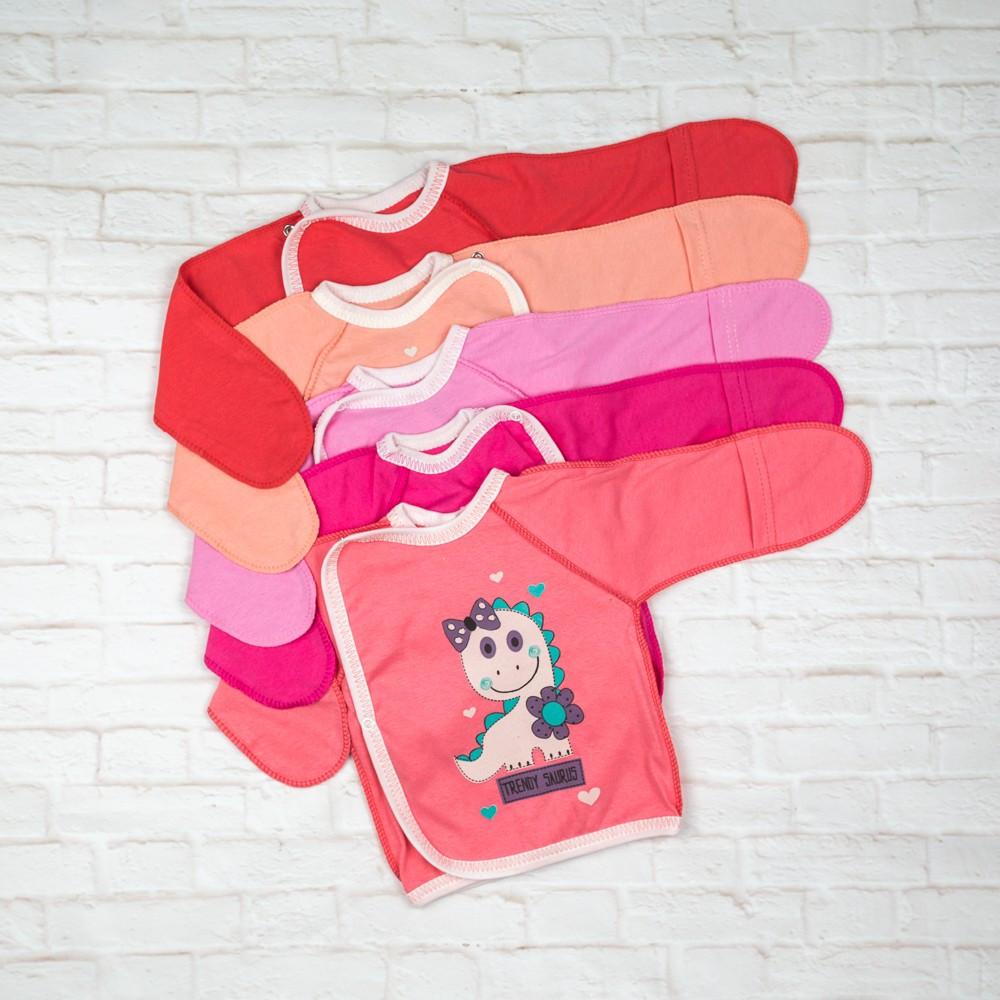 Сорочечка для новонароджених бавовна
