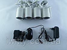 Беспроводной комплект видео-наблюдения WiFi Full KIT W04-200 (4 шт), фото 3