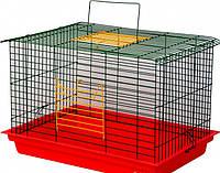 Клітка для гризунів Лорі Кролик-Максі 36 х 56.5 х 40 см цинк
