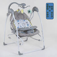 Кресло-качалка для ребёнка,качалка-шезлонг, Детская качель электрическая   СХ-30350 JOY 11/77.5